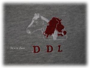 Polo gris DDL 3