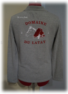 Polo gris DDL 5