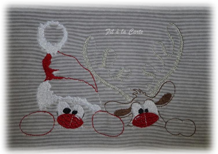 Pyjama Noël Père Noël coucou 6a2