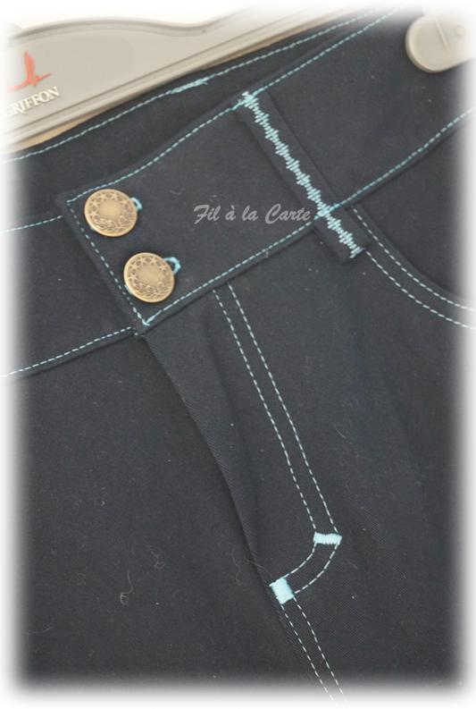 Jeans bleu2
