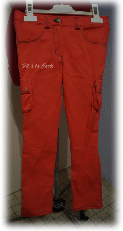 Jeans corail 6a+