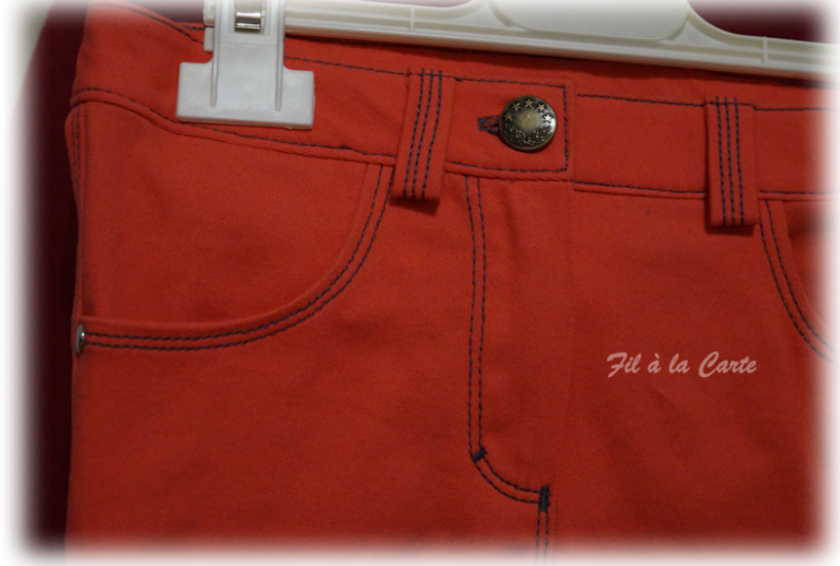 Jeans corail 6a+2