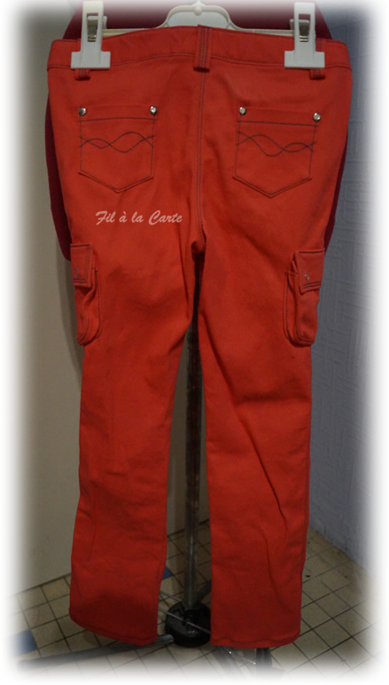 Jeans corail 6a+4