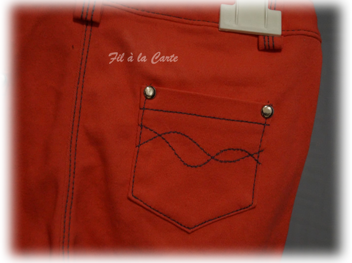Jeans corail 6a+5