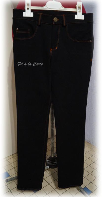 Jeans noir 9a+