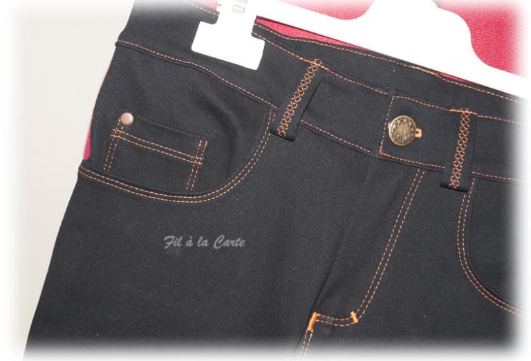 Jeans noir 9a+2