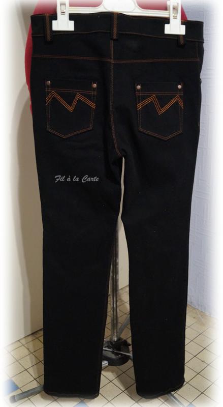 Jeans noir 9a+3