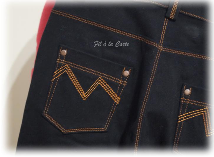 Jeans noir 9a+4