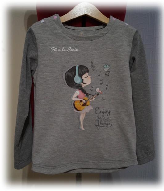 Tee shirt musicienne 6a