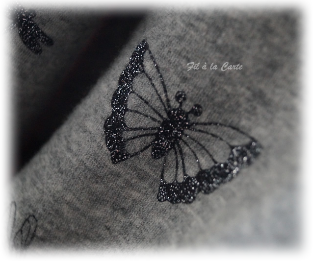 Gilet papillon 7a2