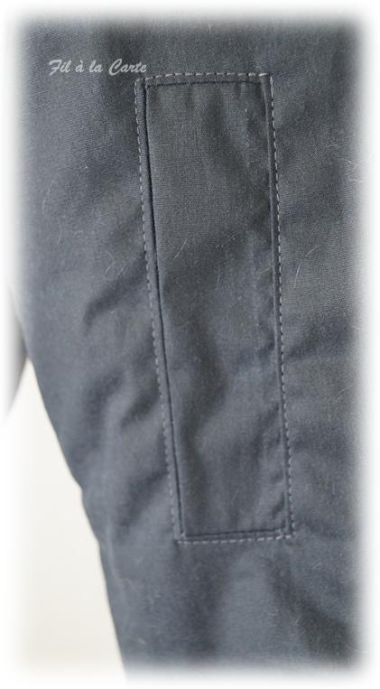 Manteau hiver gris 10a2