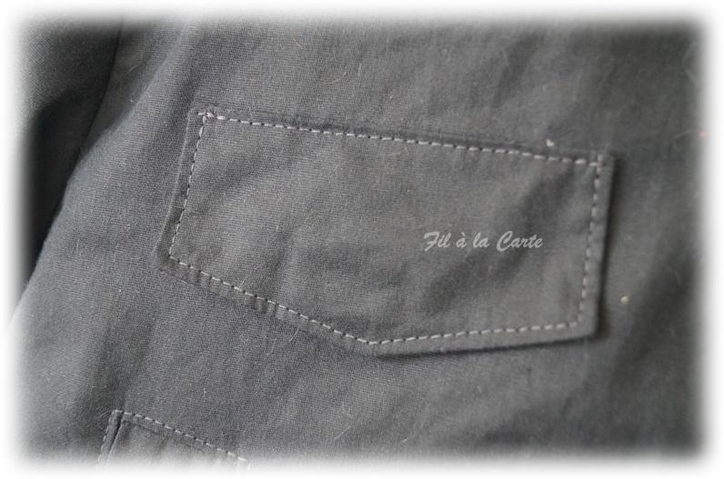 Manteau hiver gris 10a3