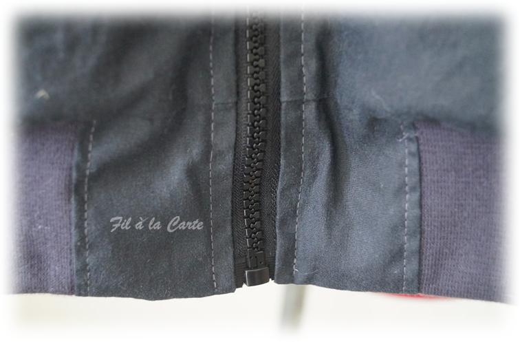 Manteau hiver gris 10a4