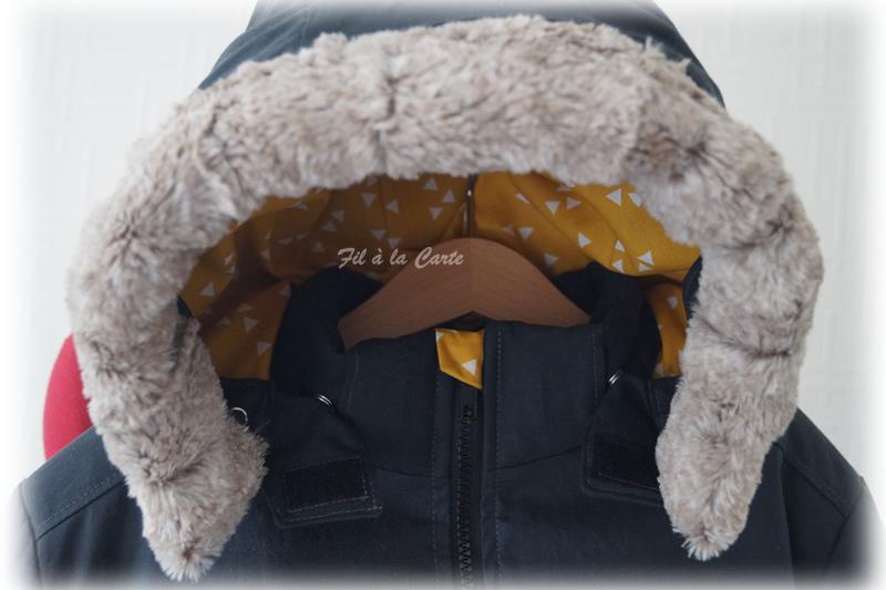 Manteau hiver gris 10a5