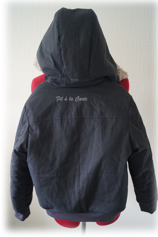 Manteau hiver gris 10a7