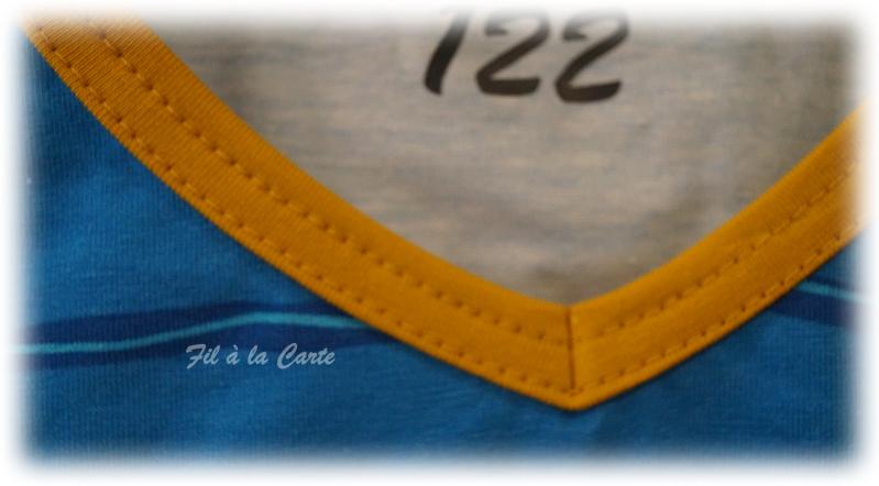 Tee shirt Yakari bleu7a3