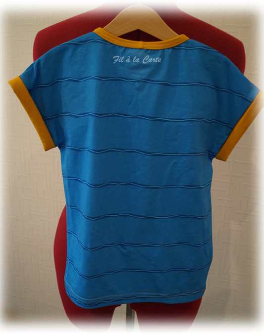 Tee shirt Yakari bleu7a5