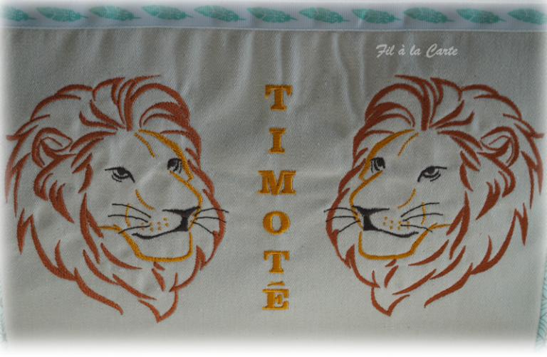 Sac voyage trousse lions3