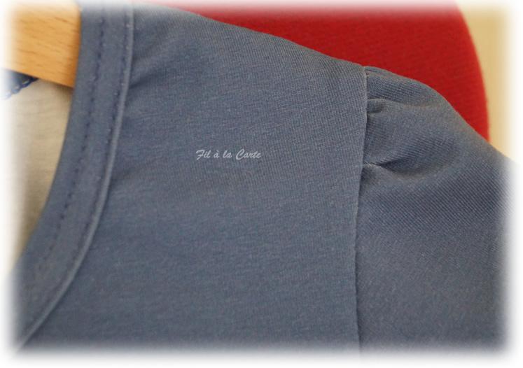 Tee shirt profils animaux 122 cm2