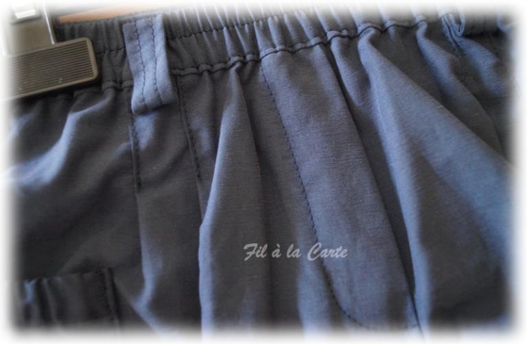 Tenue tee shirt short bleu4