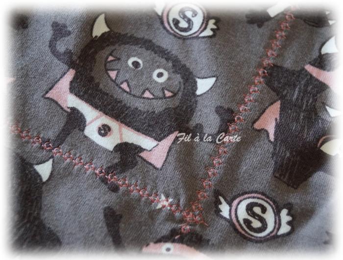 Pyjama short débardeur marron4